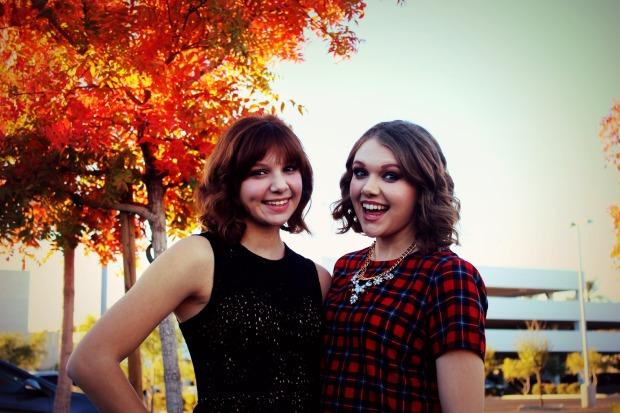 My sister, Hannah, and I!